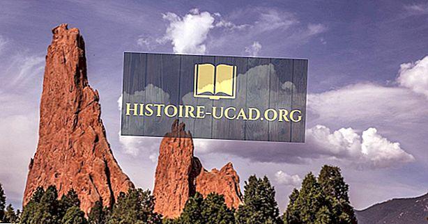 cestovat - Zahrada bohů, Colorado - jedinečná místa po celém světě