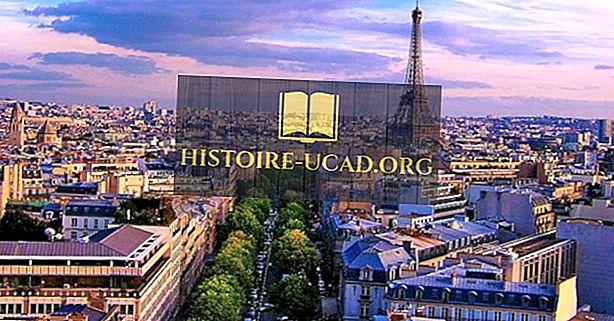 Top turistmål i verden