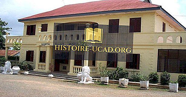 Asante kraljestvo mesta Gane