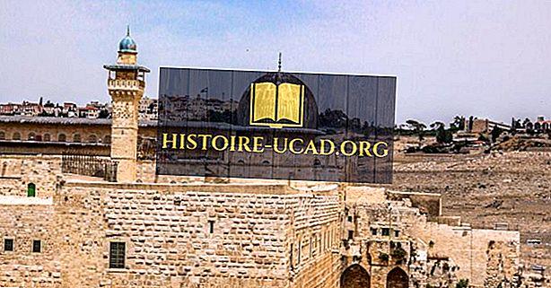Vanalinn Jeruusalemma - imelise koht Lähis-Ida Püha Maal