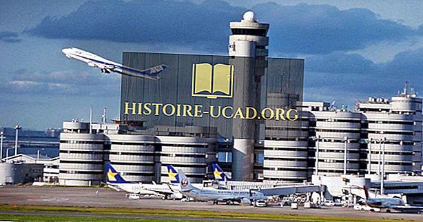 Melyek a legforgalmasabb repülőterek Japánban?