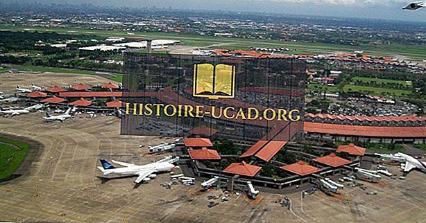 Най-натоварените летища в Индонезия
