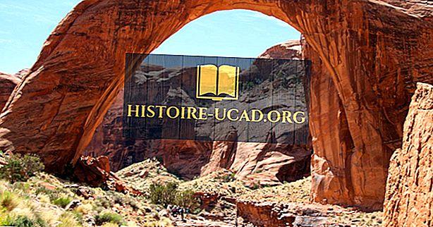 Rainbow Bridge National Monument, Utah - einzigartige Orte auf der ganzen Welt