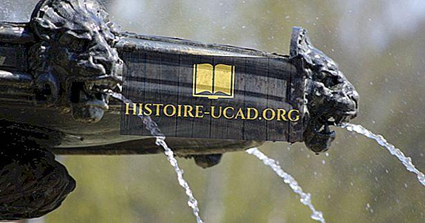 10 znanih vodnjakov Združenih držav