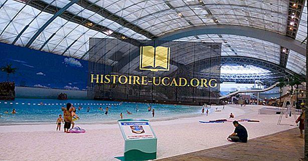 दुनिया में सबसे बड़ा स्विमिंग पूल