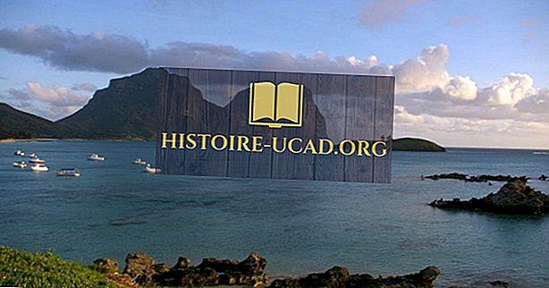 Lord Howe Island Group: Patrimônio Mundial da UNESCO na Austrália