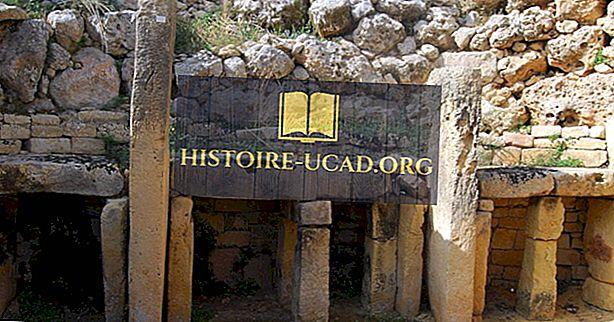 Les temples mégalithiques de Malte: un site du patrimoine mondial de l'UNESCO