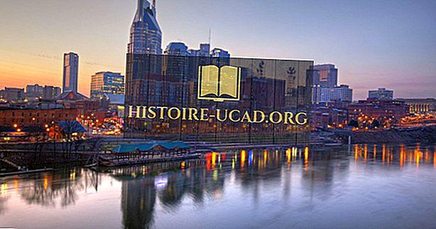 10 populiariausių Nashville lankytinų vietų