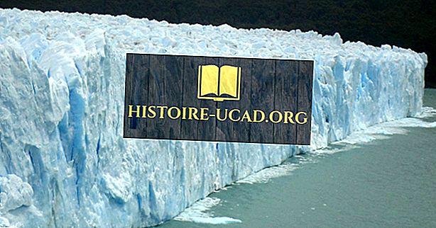 Ледник Порито Морено, Аргентина - уникальные места по всему миру