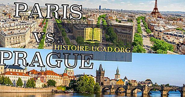 Showdown de viagem: Paris x Praga