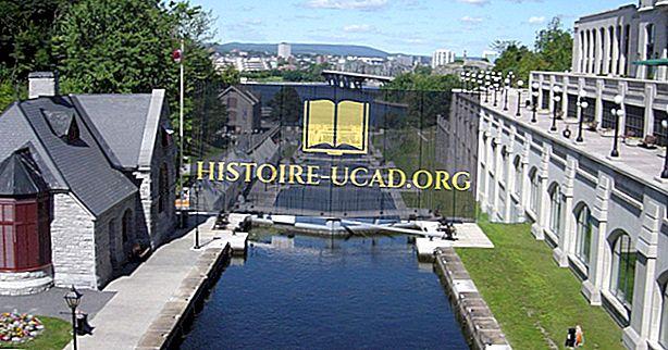 Kanał Rideau: wpisany na listę światowego dziedzictwa UNESCO w Kanadzie