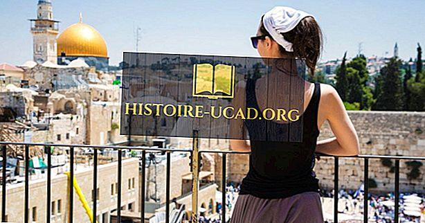 Țările sursă de top pentru turistii în Israel