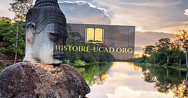 Top 10 turistických atrakcí v Kambodži