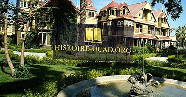 Winchester Mystery House, California - Tempat Unik di seluruh Dunia