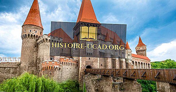 Corvin Castle, Rumänien - einzigartige Orte auf der ganzen Welt