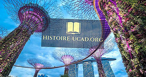 Osm architektonických divů Singapuru