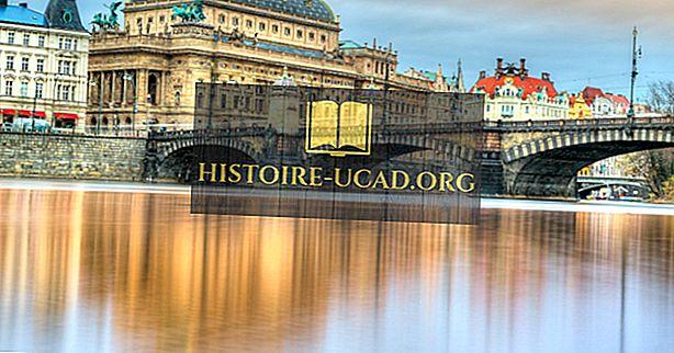 Национално позориште у Прагу - јединствена места широм света