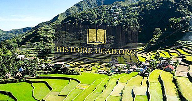 Banaue ris terrasser - den åttonde världens underverk