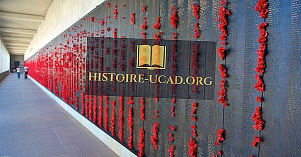 10 ذكريات حرب قوية تشكل حول العالم
