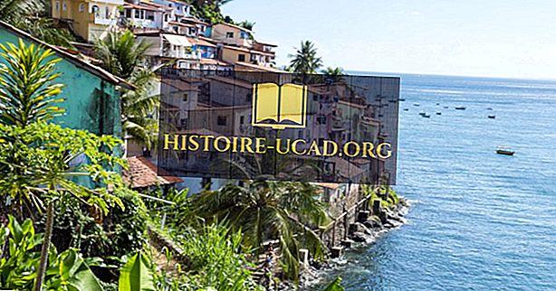 سلفادور ، البرازيل - أماكن فريدة حول العالم