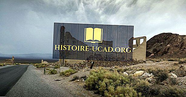Amerika'nın Hayalet Kasabaları: Rhyolite, Nevada