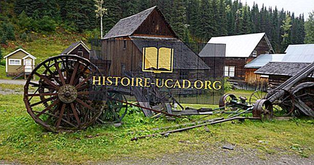 Città fantasma del Canada: Barkerville, British Columbia