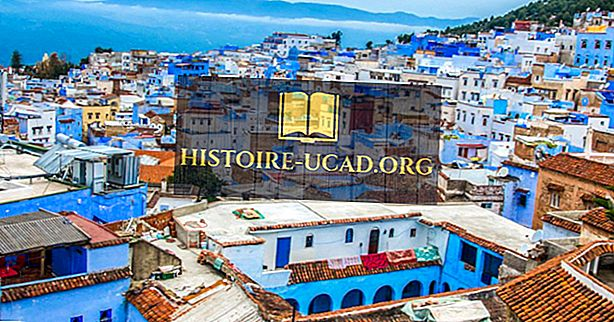 Chefchaouen, Maroko - jedinečná místa po celém světě