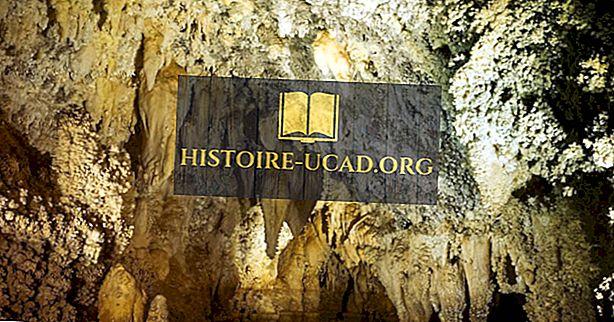 Jeskyně Timpanogos - jedinečná místa v severní Americe