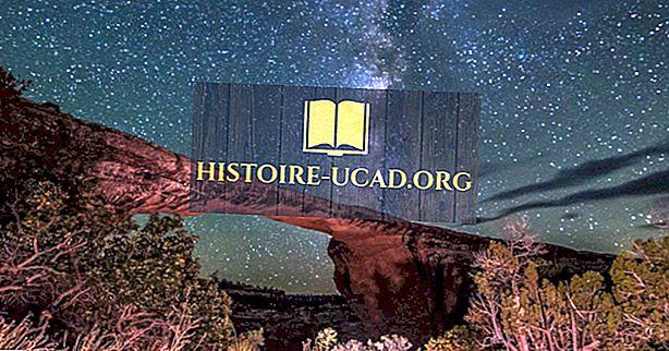 อนุสรณ์สถานแห่งชาติ Natural Bridges - สถานที่อันเป็นเอกลักษณ์ในสหรัฐอเมริกา
