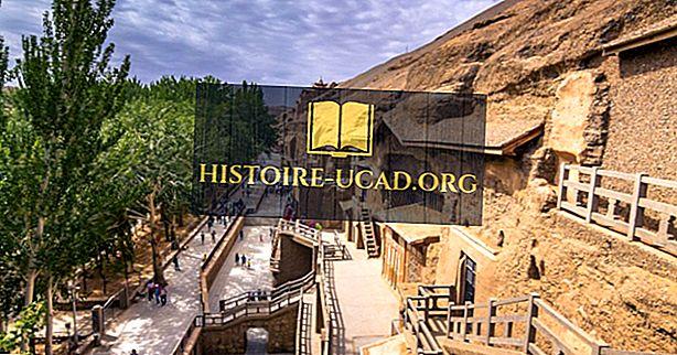 Mogao urvai - UNESCO pasaulio paveldo objektai Kinijoje