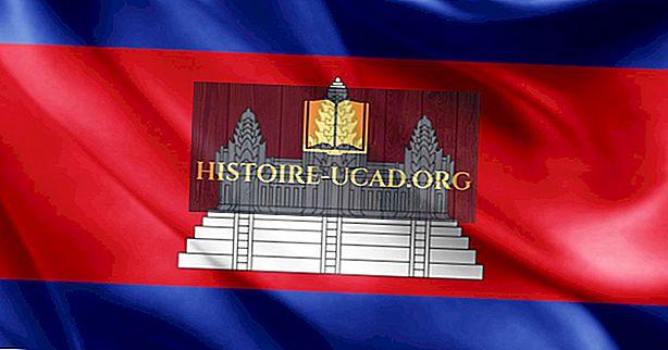 Mitä Kambodžan lipun värit ja symbolit tarkoittavat?