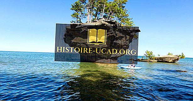 ¿Qué estados bordean el lago Huron?