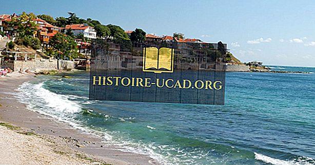 Quais países têm um litoral no mar Negro?