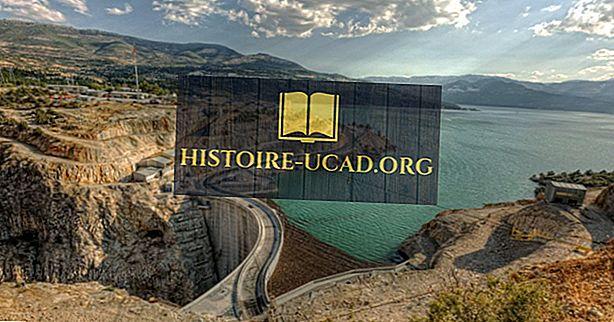 Nejvyšší přehrady v Turecku