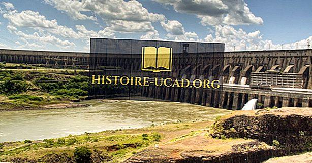 Las 10 represas más altas de Brasil