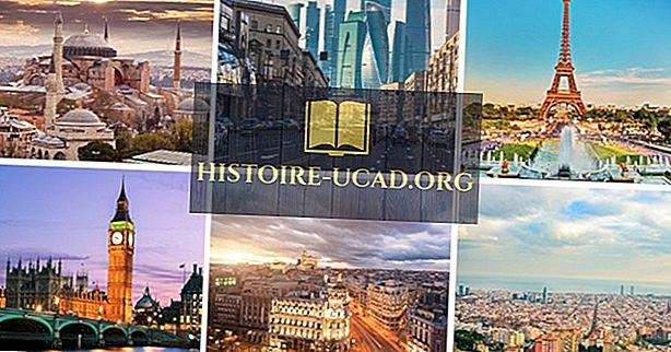 svetové fakty - Najväčšie mestá v Európe