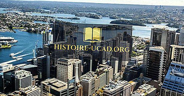Najväčšie mestá v Austrálii a Oceánii