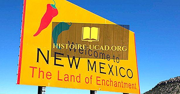 न्यू मैक्सिको ने अपना नाम कहां से प्राप्त किया?