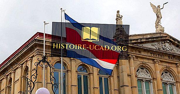 Co oznaczają kolory i symbole flagi Kostaryki?