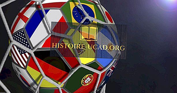 ข้อเท็จจริงโลก - ฟุตบอลโลกส่วนใหญ่ชนะโดยประเทศ