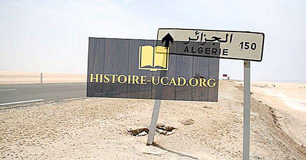 Katere države mejijo na Alžirijo?