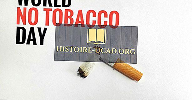 Kaj in kdaj je svetovni dan brez tobaka?
