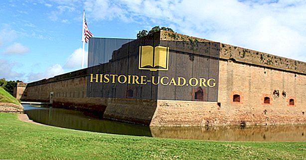 Mi és hol van a Fort Pulaski Nemzeti Emlékmű?