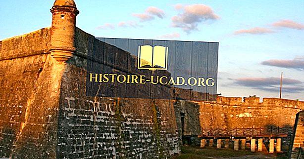 Hva og hvor er Castillo de San Marcos?