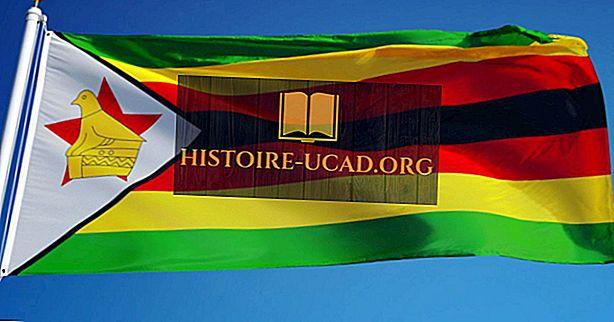 짐바브웨 국기의 상징과 상징은 무엇을 의미합니까?
