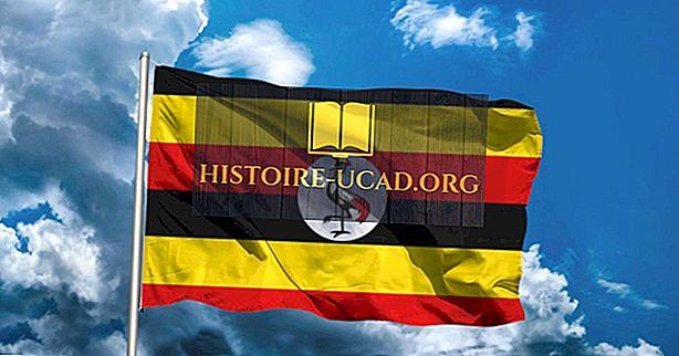 Co znamenají barvy a symboly vlajky Ugandy?