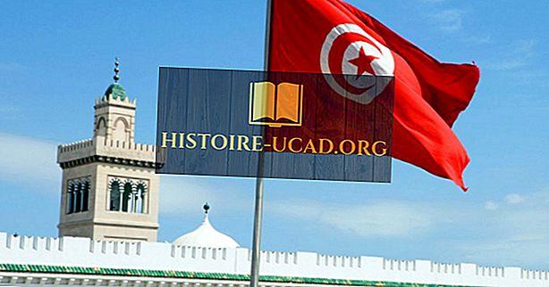 Шта значе боје и симболи заставе Туниса?