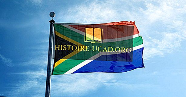 Ko nozīmē Dienvidāfrikas karoga krāsas un simboli?