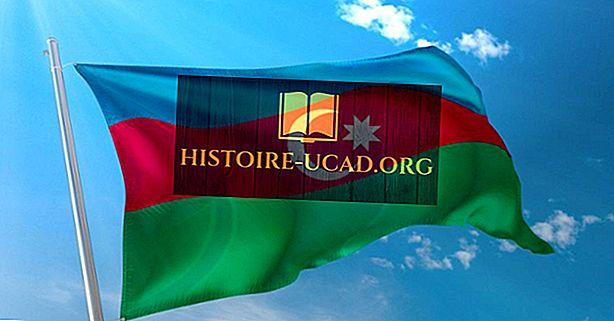 Was bedeuten die Farben und Symbole der aserbaidschanischen Flagge?