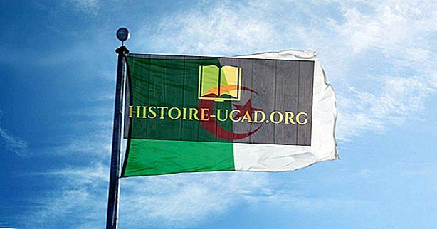 Шта значе боје и симболи заставе Алжира?